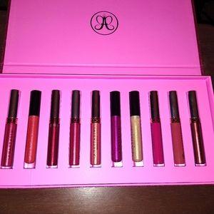 Anastasia Holiday lipgloss SET